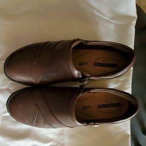 Brown Clark's Loafers 8 1/2